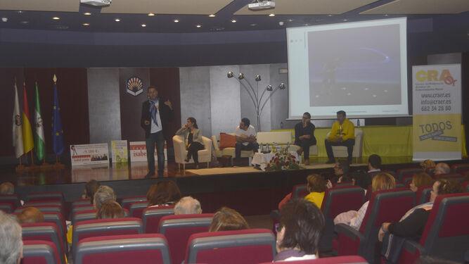 Una de las ponencias en el congreso andaluz.