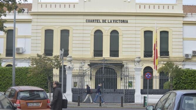 Comandancia de la Guardia Civil en Córdoba capital.