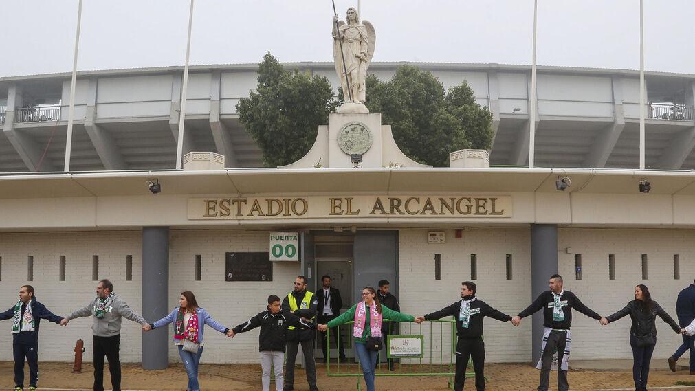 Las imágenes del Córdoba-Rayo Vallecano