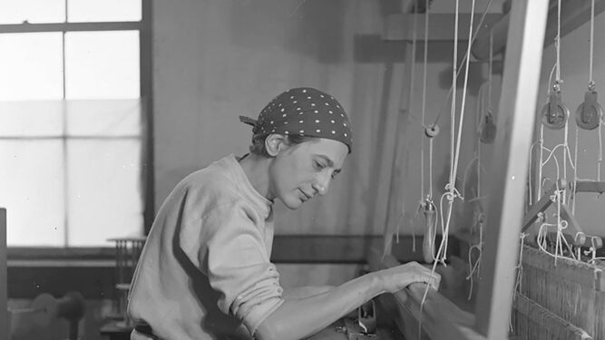 Anni Albers, una mujer de la Bauhaus