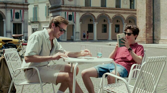 Una imagen de 'Call me by your name', del italiano Luca Guadagnino.