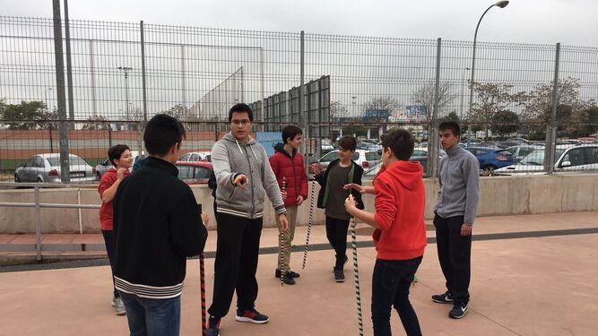 Una de las actividades desarrolladas durante el programa.