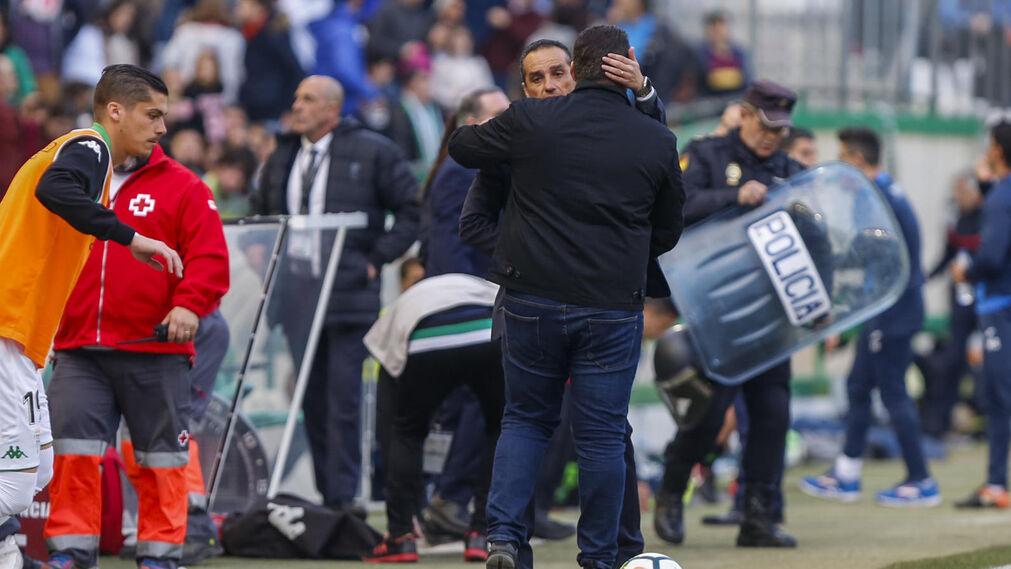 El Córdoba CF-Granada CF, en imágenes