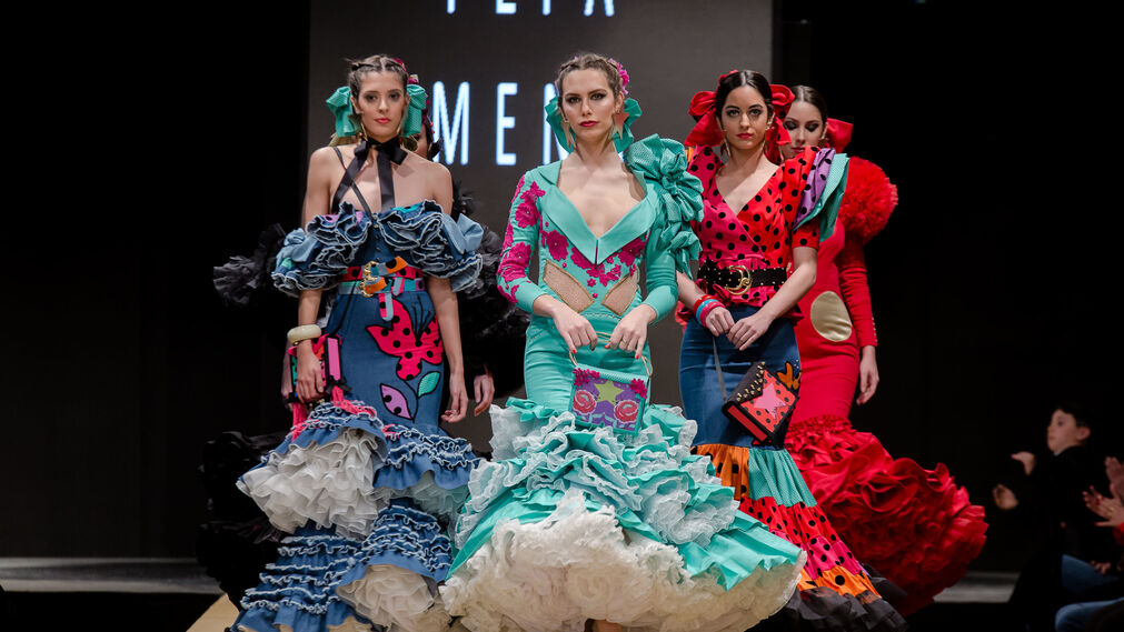 Pasarela Flamenca Jerez 2018- Pepa Mena