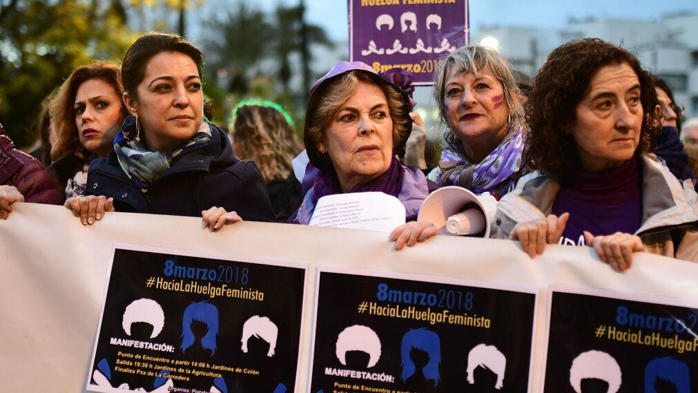 Las imágenes de un 8-M histórico en Córdoba
