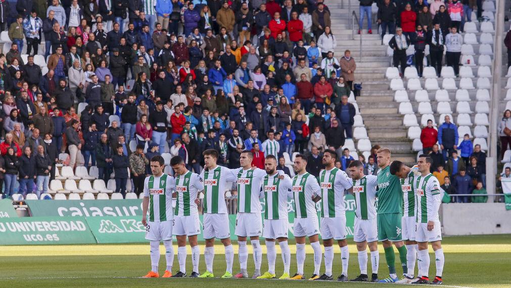 El Córdoba CF-Lugo, en imágenes