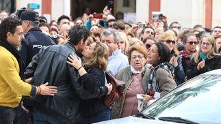 Las imágenes del funeral de Gabriel