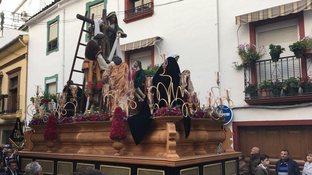 Descendimiento, Cabra. Fotografía: Antonio J. Roldán.