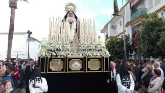 Virgen de los Dolores, Palma del Río. Fotografía: Rafael Morales.