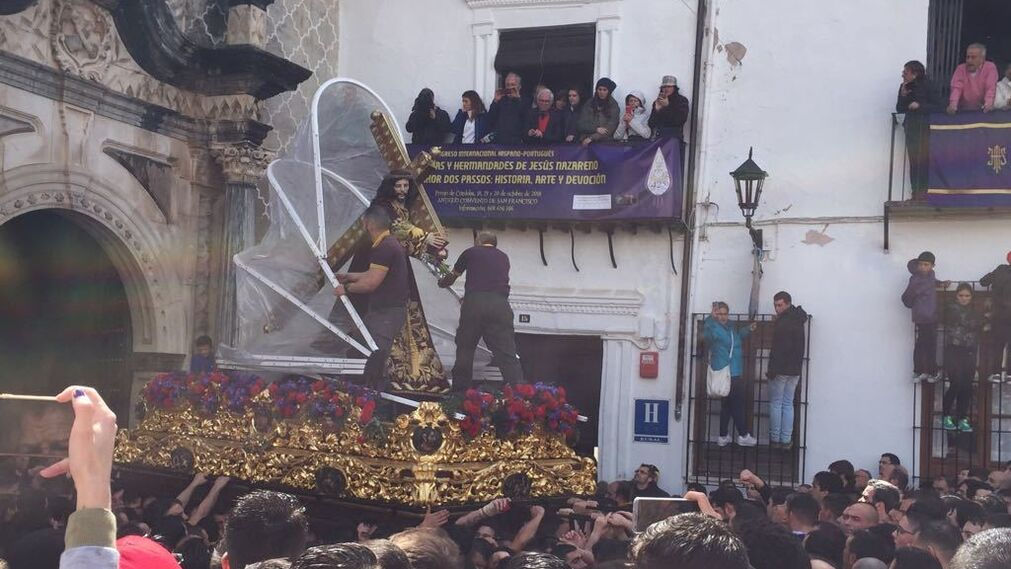 Jesús Nazareno, Priego de Córdoba. Fotografía: Laura Serrano.