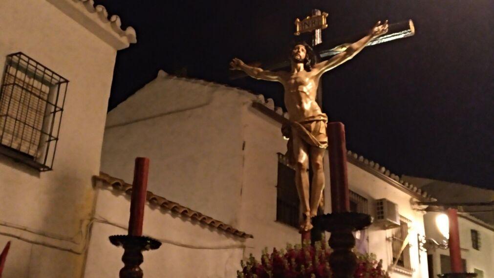 Cristo de la Sangre, Baena. Fotografía: Sara Núñez.