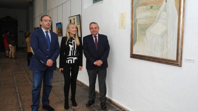 Francisco Juan Martín, María Jesús Luque y Francisco Alcalde