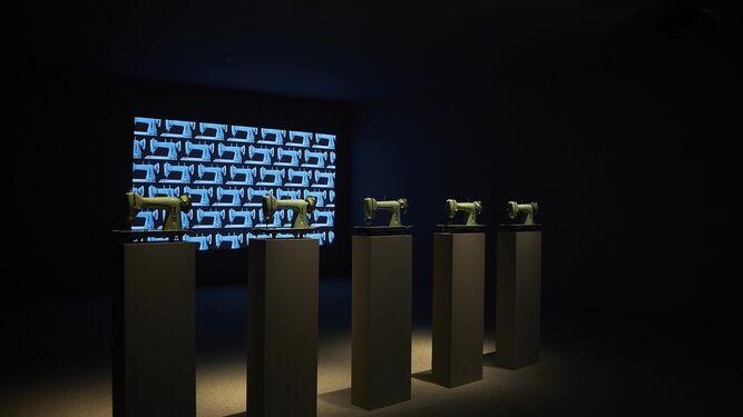 Recreación y debate. 'Soldados de plomo', 'Nefertiti' o 'Plan urbanístico para el Gran Bagdad' se pueden ver en la muestra del CAAC.