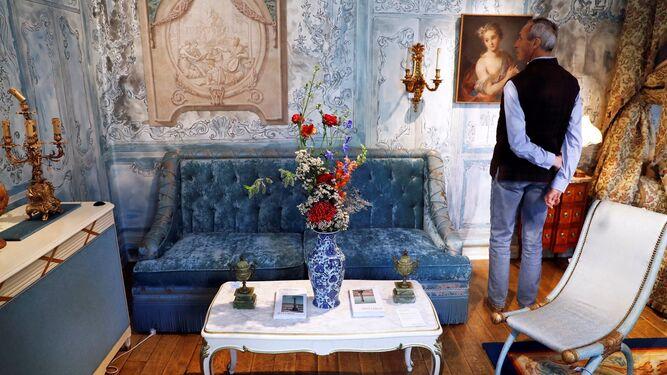 El decorador Vincent Darrè ha recreado algunas de las estancias del hotel parisino.
