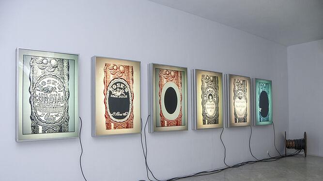Preguntas fértiles. A la izquierda, 'La botella perdida de Marcel Duchamp'; a la derecha, 'La Gioconda con parabrisas'. Abajo, 'L'oeil alerte' (El ojo alerta), una actitud que defendió Lublin.