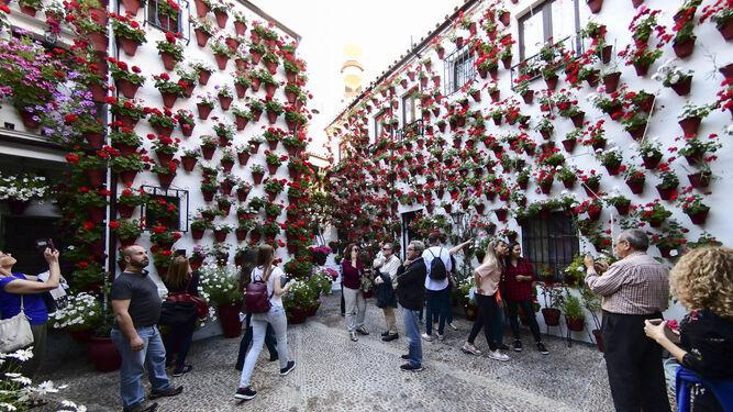 Patio de la calle Martín de Roa, 9.