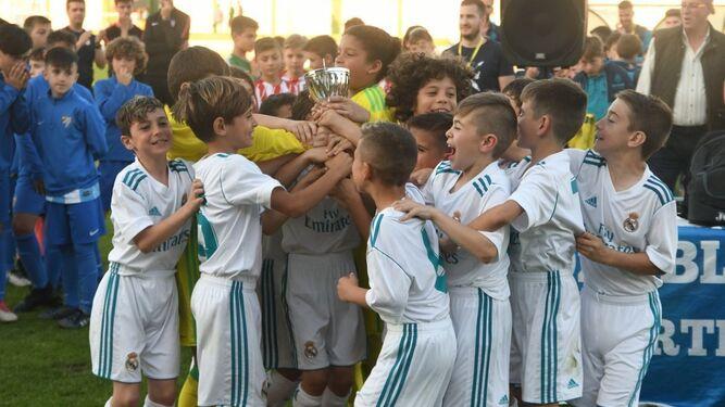 El Real Madrid se impuso en la categoría benjamín.