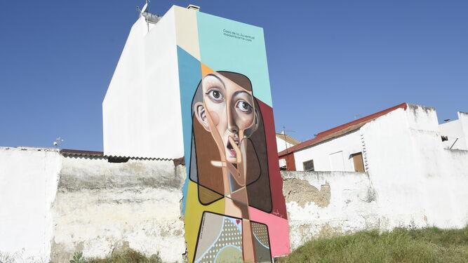 Mural en el distrito sur