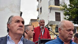 Las imágenes de la manifestación en la Plaza Alta de Algeciras