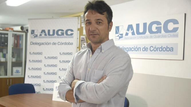 Ostos, en las dependencias de la AUGC en la Comandancia de Córdoba.
