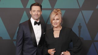 Hugh Jackman y Deborra-Lee Furness.