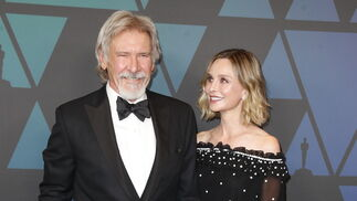 Harrison Ford y Calista Flockhart.