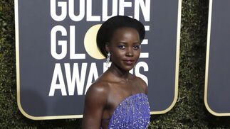 <p>Lupita Nyong'o, de Calvin Klein by Appointment.</p>