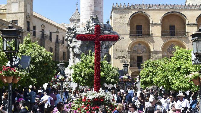 Imagen de una cruz.