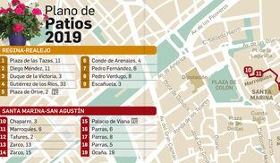 Mapa De Los Patios De Córdoba 2019 Consulta Todas Las Rutas De Los Patios 2019