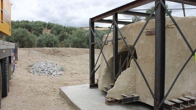 El horno romano en Los Tejares.