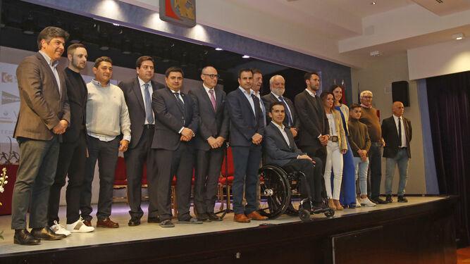 Imagen de los premiados en la XX Gala del Deporte de Onda Cero.