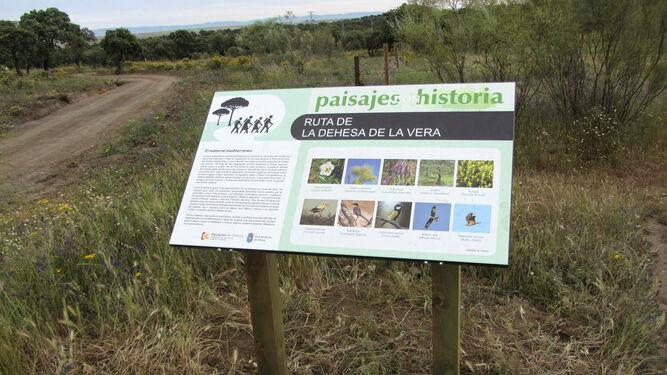 Señalética de un Paisaje con Historia.