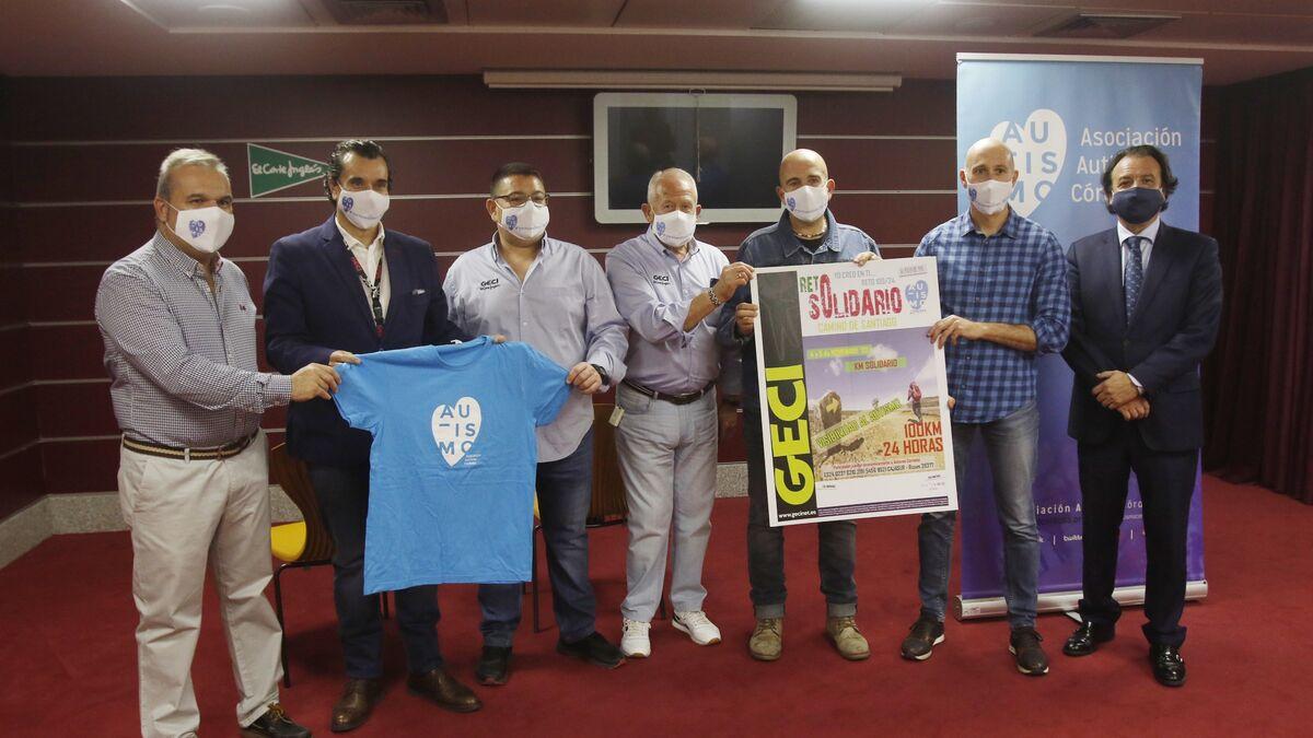 El reto solidario de 100 kilómetros del Camino de Santiago en 24 horas en beneficio de Autismo Córdoba