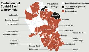 Así ha evolucionado la pandemia en Córdoba.
