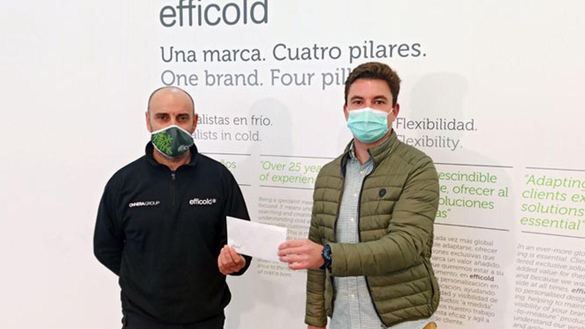 Infancia Solidaria y la empresa lucentina Efficold avivan la curación de un bebé de Honduras gravemente enfermo del corazón