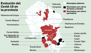 Así avanza la pandemia en Córdoba.