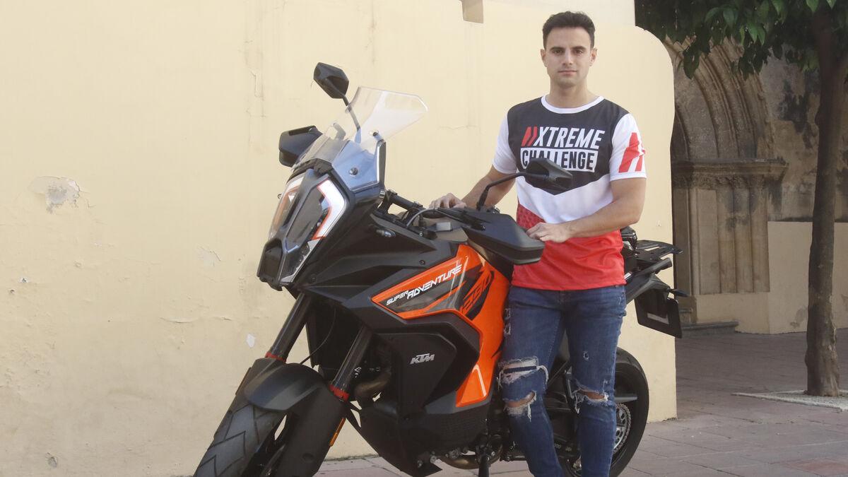 Andrés Muñoz, fundador de Gas Biker.