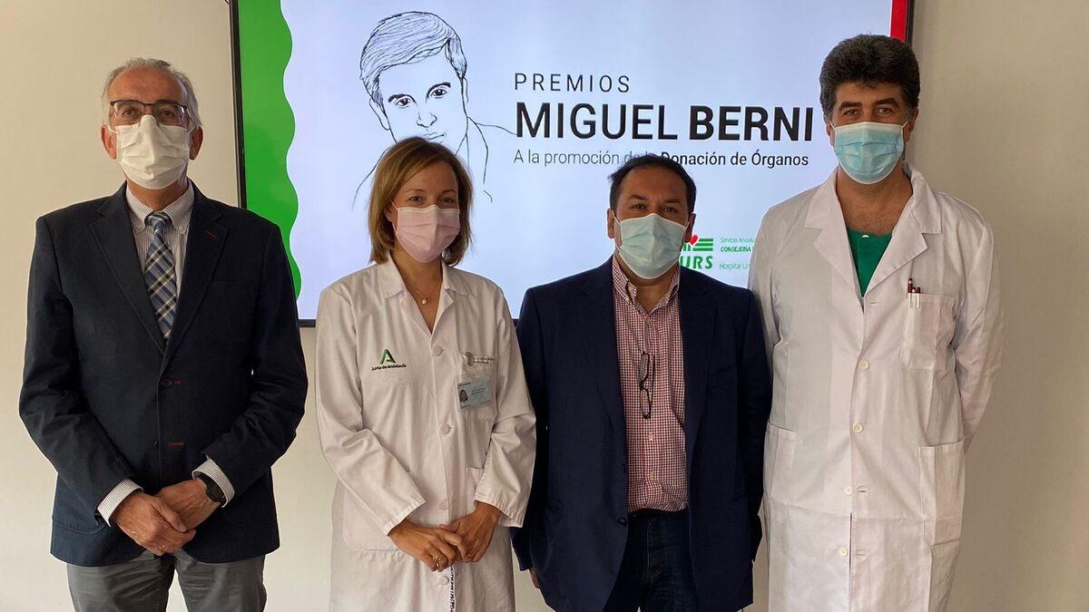 El Ayuntamiento de Córdoba y la periodista María Eugenia Vílchez, premiados por promocionar la donación de órganos