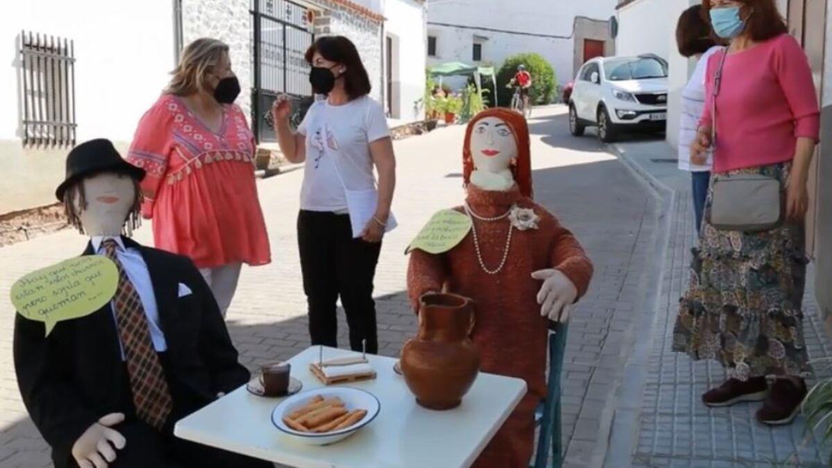 En la churrería de los Mayos de la calle Monjas.