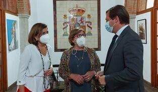 María Jesús Botella, Dolores Sánchez y Antonio Repullo.