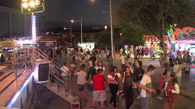 Feria Real de Baena antes de la pandemia.